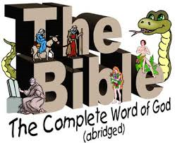 The Bible – The Complete Word of God